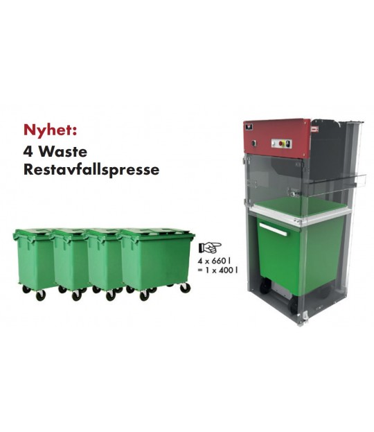 NP 4-Waste emballasjepresse